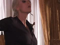 Slut gets huge ejaculation on face after unforgettable fucking