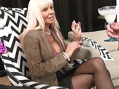 Horny mother I'd like to fuck out of hesitation jumps onto a hard ding-dong