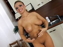Big bra buddies darling is desirous to receive her cunt sated and sore