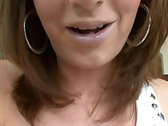 Beauty likes to get her loving holes stuffed by large cock