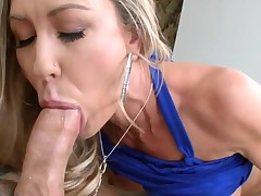 Fascinating darling pounds her twat with hard sex toy