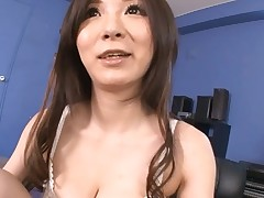 Bawdy mother i'd like to fuck deepthroats large dick and then facial, cum discharged